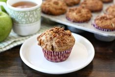 Apple Cinnamon Crumb Muffins from Two Peas and Their Pod www.twopeasandtheirpod.com #muffin #apple