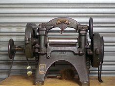 Leather splitter 1905