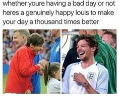 I was actually kind of upset cause I saw his picture of when he came to know about his mother :( Introducing, Louis Tomlinson- the reason of my sadness, and the reason of my happiness. One Direction Photos, One Direction Humor, I Love One Direction, Bon Point, My Sun And Stars, Louis Williams, 1d And 5sos, Thing 1, Having A Bad Day