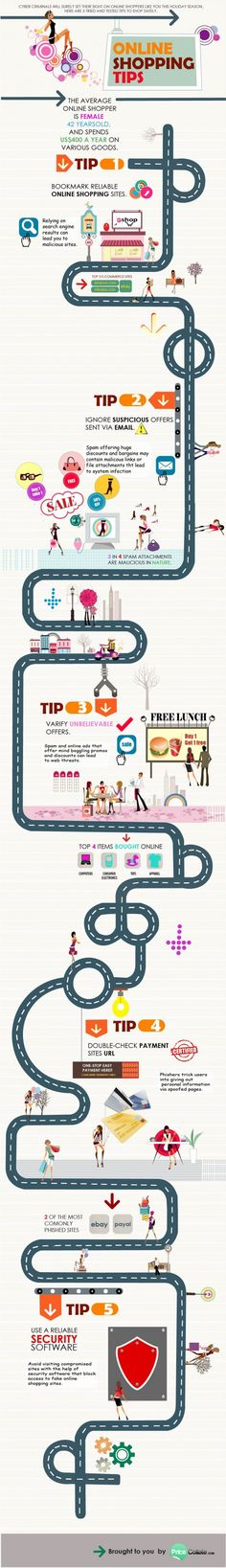 INFOGRAPHIC: 5 TIPS ON SHOPPING ONLINE