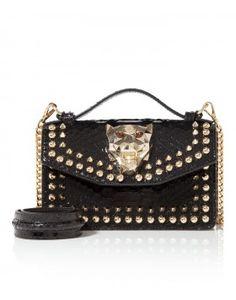 "top handle small ""sharper"" - Tote Bags - Bags - Women   Philipp Plein"