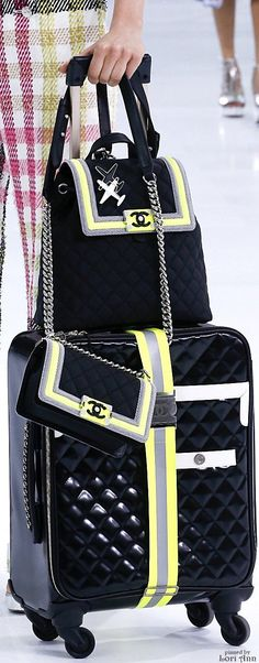 A good idea for travel #chanel #travelglam