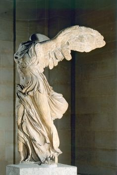 Nike of Samothrace - my favorite sculpture of all time - one day I will visit it