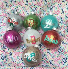 Personalized and Customized Christmas ornaments  by GoHedgy