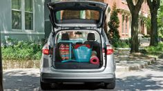 Arms full and trying to open the liftgate? Not a problem. With the C-MAX Hybrid and C-MAX Energi, you have the convenience of a class exclusive* available foot-activated liftgate. With a simple kick of your foot under the bumper, the liftgate opens. No hands needed!