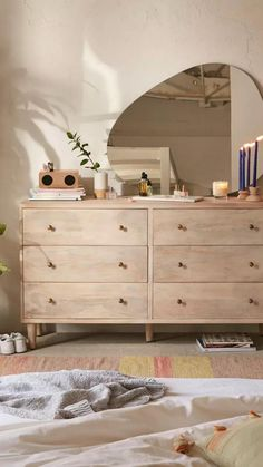 Muebles Living, Wood Bedroom Furniture, Room Ideas Bedroom, Bedroom Inspo, Aesthetic Bedroom, Bedroom Apartment, Apartment Furniture, Dream Apartment, My New Room