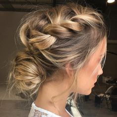 Hairstyles for wedding guests frisuren haare hair hair long hair short Up Hairstyles, Pretty Hairstyles, Hairstyle Ideas, Updos Hairstyle, Makeup Hairstyle, Brunette Hairstyles, School Hairstyles, Plaited Hairstyle, Perfect Hairstyle