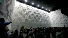 HyperMatrix by yangsookyun. This project consist of 3,375 boxes and each box controlled by programming.