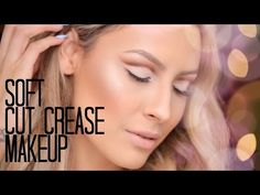 ▶ Soft Cut Crease Makeup + How to Hide lash Bands - Desi Perkins - YouTube