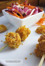 chiodo di garofano: insalata di pollo _croccante e speziata Chicken Nuggets, Winter Food, Chicken Salad, Cauliflower, Curry, Vegetables, Salad Cake, Winter Recipes, Blog