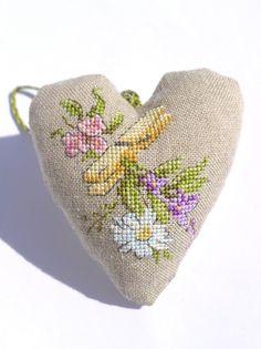 """Moja pasja, mój świat: Fines Herbes - Véronique Enginger - """"Dans mon jardin au point de croix"""""""