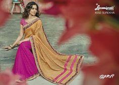 LadyIndia.com #Bridal Saree, Designer Printed Saree For Ladies, Wedding Saree,Bridal Saree,Printed Saree,Party Wear, https://ladyindia.com/collections/ethnic-wear/products/designer-printed-saree-for-ladies
