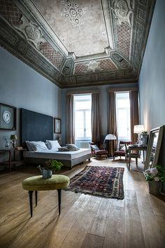 Une suite a Florence / L'hôtel Soprarno dans un vieux palais toscan