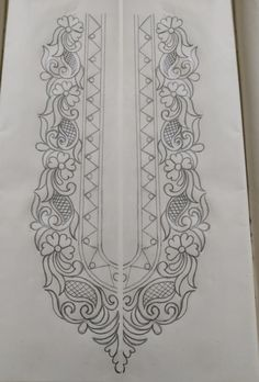 Fiverr freelancer will provide Digital services and give you hand drawn embroidery designs stencil patterns within 2 days Handmade Embroidery Designs, Hand Embroidery Design Patterns, Bead Embroidery Tutorial, Flower Embroidery Designs, Embroidery Motifs, Stencil Patterns, Stencil Designs, Hand Embroidery Designs, Embroidery Kits