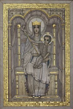 Our Lady of Walsingham / http://www.contactchristians.com/our-lady-of-walsingham/