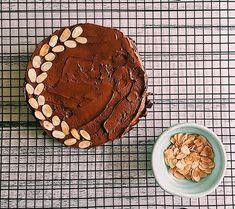 Julia Child's Reine de Saba chocolate cake