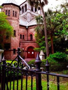 Circular Congregational Church, Charleston SC - one of the venues for the Mark O'Connor fiddle camp. @Andra Rabb?
