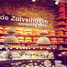 our lamps in Dutch cheese shop in Zwolle