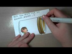 Coloring of a Mason jar Part 2 (Fascinating to watch an artist at work...and with instructions that are clear and helpful!)