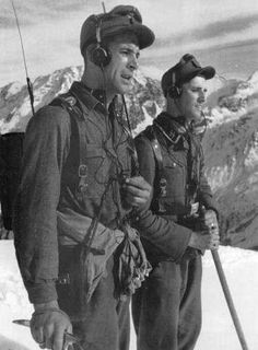 """Nein, no reception up here either Ludwig"" ""Schiesse, I gotta text me mum"""