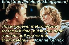 Party time: Have you ever met someone for the first time, but ...