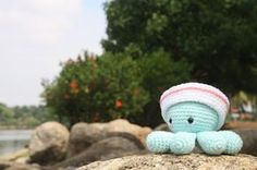 Lucas Craft House: Free Crochet Pattern for Octopus with sailor hat - Amigurumi Animal (English version)