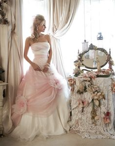 If I ever get skinny and married again I love this dress!!!