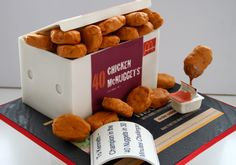 20 piece chicken nuggets price | ... or 20. And M's only request to me was to make the box a 40 piece one