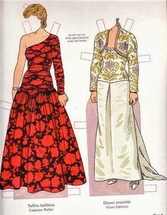 Coleção completa com a Princesa Diana e seus principais looks!