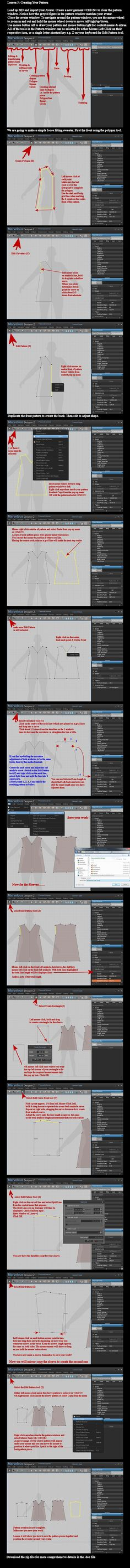 MD2 and DAZ Studio: Creating a Pattern by *dylazuna on deviantART