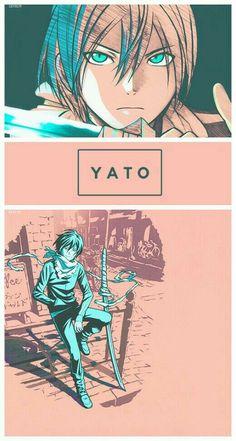 in memory of my fish that died, who i named after yato. Anime Noragami, Yatogami Noragami, Manga Anime, Yato And Hiyori, Fanarts Anime, Anime Art, Girls Anime, Anime Guys, Arte Sailor Moon