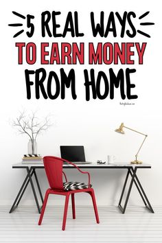 Are you looking to make money from home? Here are 5 real ways you can start earning money from home. Earning Money, Ways To Earn Money, Earn Money From Home, Way To Make Money, Online Job Opportunities, Teach English To Kids, Money Saving Mom, Easy Work, Show Me The Money