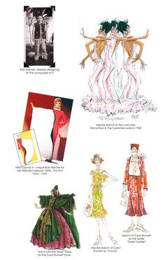 Bob Mackie Designs for the Carol Burnett Show Art Costume, Cool Costumes, Edith Head, Liza Minnelli, Carol Burnett, Design Research, Joan Rivers, Bob Mackie, Vintage Gowns