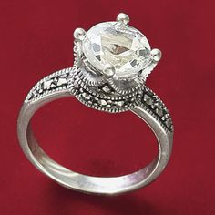 Beautiful crown ring