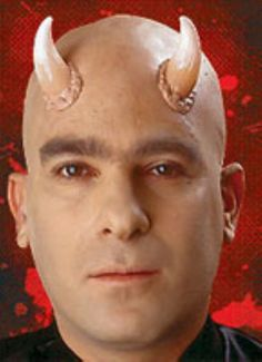 Small Universal Demon Devil Horns - Add a unique and professional touch to your costume with this realistic Woochie brand latex appliance; great to use over and over again. These pair of horns have a flesh looking base to look like they are growing out of your head, graduating to a white bone color. These horns are great for numerous costumes.Please Note: Prosthetic requires adhesive to apply. We recommend Spirit Gum. #devil #prosthetics #yyc #costume