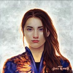 "Jana Run... on Instagram: ""I did do some fanarts but they are quite unknown;) Shadow and bone by @lbardugo and @netflix . This is the actress @jessie_mei_li and she…"""