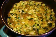 MY HCG DIET RECIPES: HCG DIET Phase 2 (P2) RECIPE #4: Zucchini & Eggs