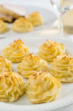 Mirabelkowy blog: Ziemniaki duchesse Peanut Butter, Blog, Kitchen, Cooking, Kitchens, Cuisine, Nut Butter, Cucina, Kitchen Floor