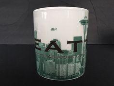 Starbucks Mug 2005 Skyline Series One Seattle WA Coffee Tea Cup  #Starbucks