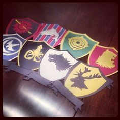 Game of Thrones door decs