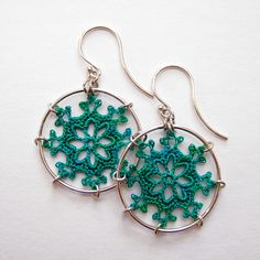 crochet + wire earrings