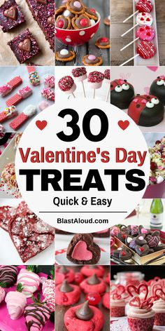30 Quick and easy treats for Valentine's day that won't take you forever to make. These Valentines day desserts are perfect for sharing with that special someone. You can also make these treats and bites and gift them as an edible gift to your Valentine! Low Carb Chocolate, Sugar Free Chocolate, Chocolate Peanut Butter, Melting Chocolate, Valentine Desserts, Valentines Day Treats, Valentines Recipes, Sugar Cookie Cups, Lemon Sugar Cookies