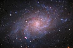 Triangulum Galaxy : The small, northern constellation Triangulum harbors this magnificent face-on spiral galaxy, Its popular names include the Pinwheel Galaxy or just the Triangulum Galaxy. Galaxy Images, Hubble Images, What Is Dark Matter, Scale Of The Universe, Astronomy Pictures, Spiral Galaxy, Star System, Nebulas, Planets