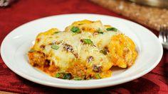 Ravioli and Sausage Skillet | Dashrecipes.com