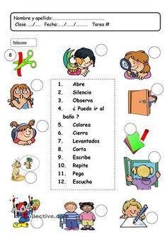 lenguaje en el aula ► imperativos (cuidadito con el levantaDos!!!!)