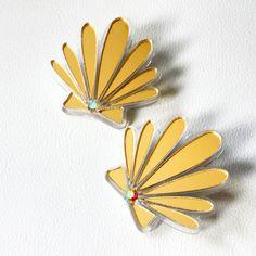 """Almejitas en Oro"" from the ""Amor al Caribe"" collection 2014."