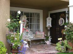 Shabby cute porch