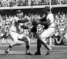 Sandy Koufax and Johnny Roseboro! #Dodgers