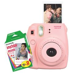 Fujifilm Instax Mini 8 Instant Camera - Pink
