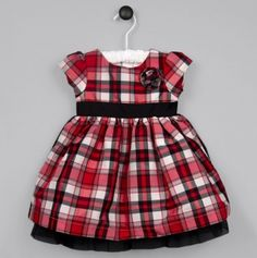 Ella Bella 2pc Plaid Dress and Panty